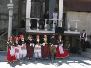 Tanssiryhmä Kreikassa